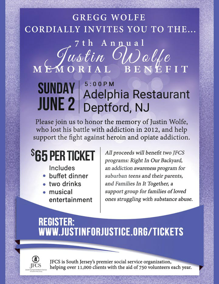 Justin Wolfe Memorial Benefit 2019
