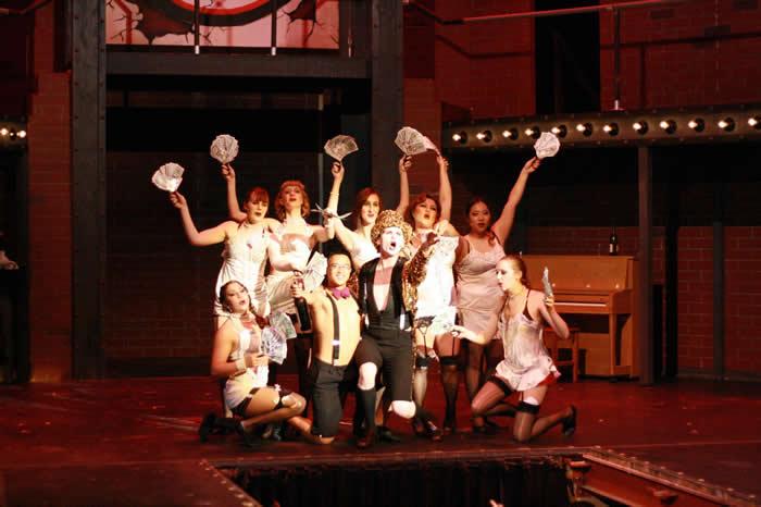 Cast of Cabaret, Spring 2012 Production