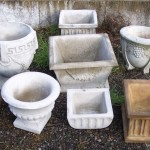 Concrete Pottery and Planters in Portland, Oregon