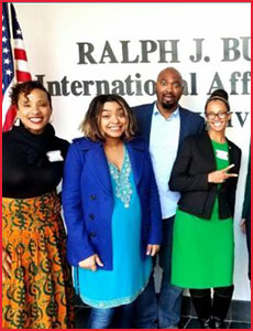 Issue 1 - Ralph J. Bunche International Affairs Center Newsletter!
