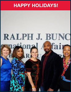 Issue 8 - Ralph J. Bunche International Affairs Center Newsletter!