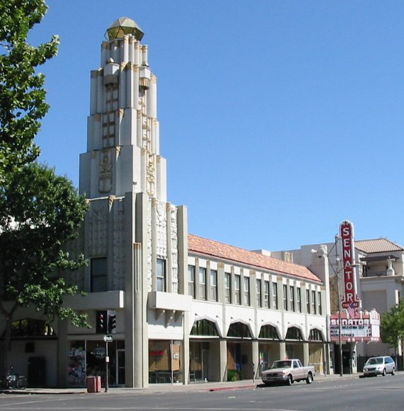 senator theater in downtown chico california