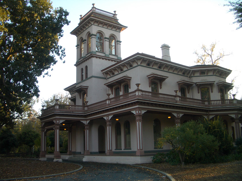 bidwell mansion in chico ca