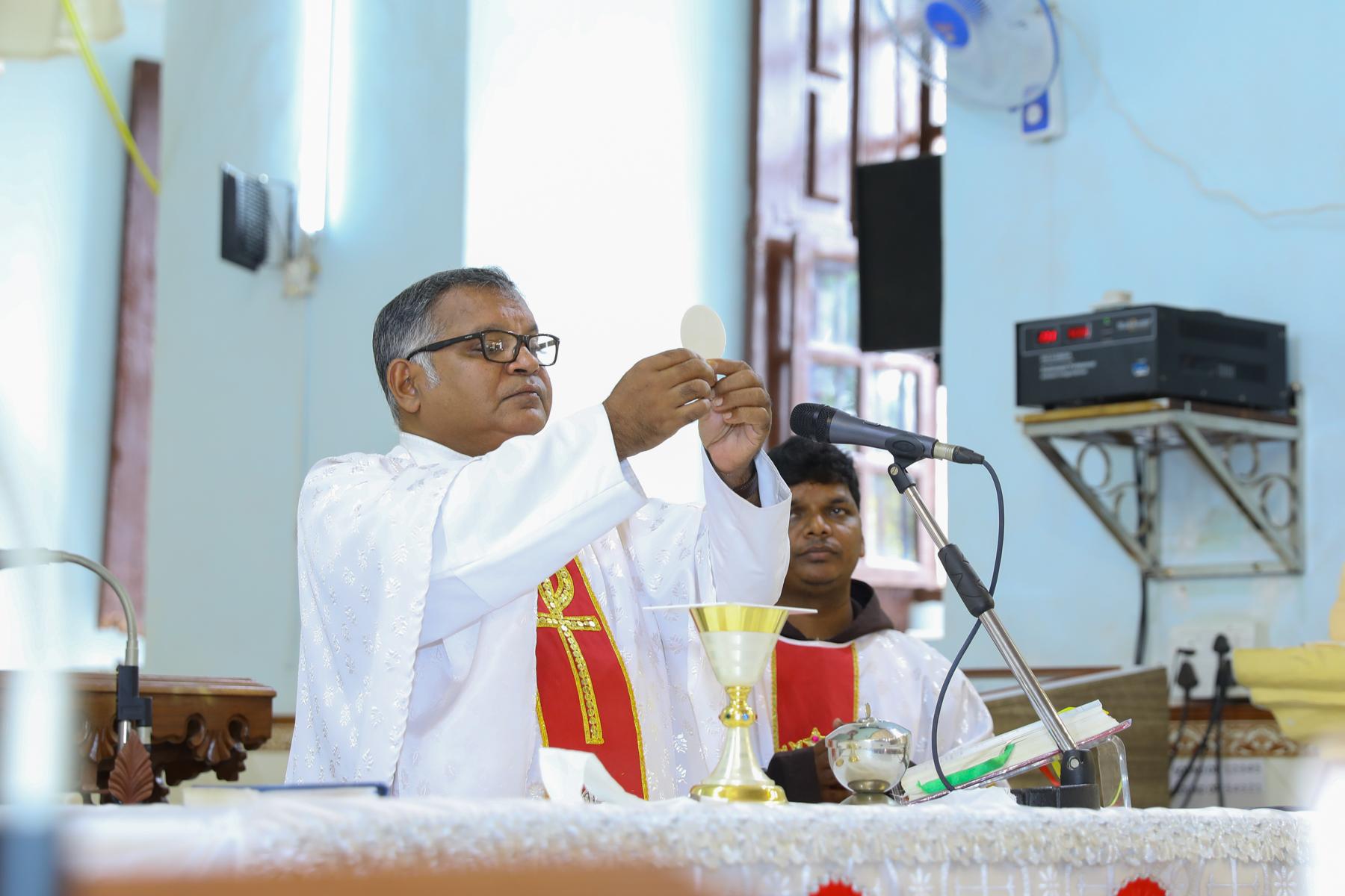 Mass service at St Diogo Church