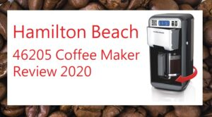 Hamilton Beach 46205 coffee machine with swivel stand review for 2020