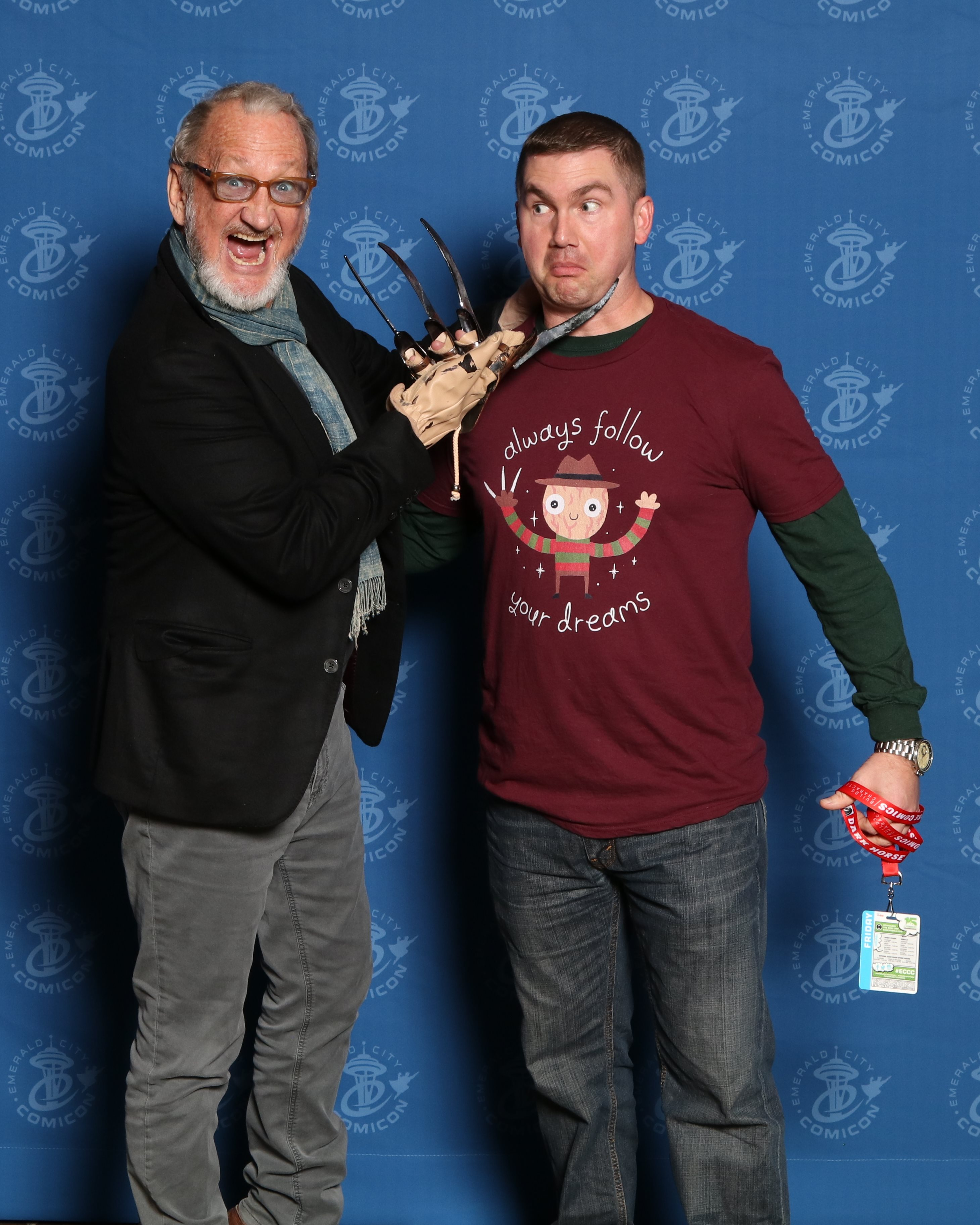 ECCC with Robert Englund