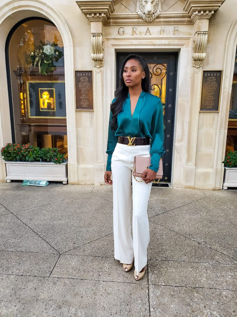 Classy and Elegant pant outfit