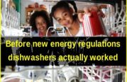Dishwashers ruined by energy regulations: Prices up $143 but dishes don't get clean
