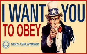 Uncle Sam Says Obey the FTC
