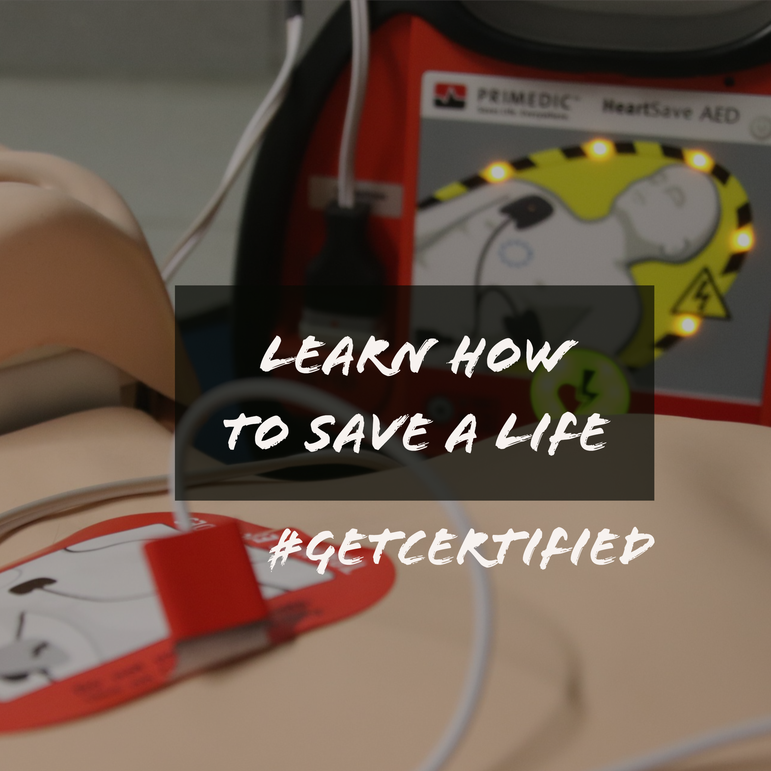 #getcertified how to save a life