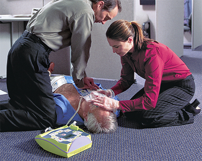 how to use an aed using an aed aed in use
