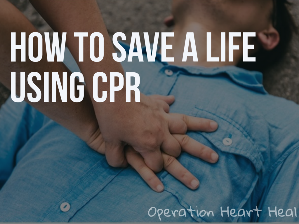 How To Save A Life Using CPR