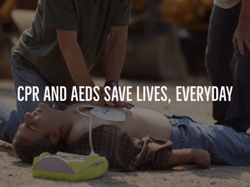 cpr and aed save lives