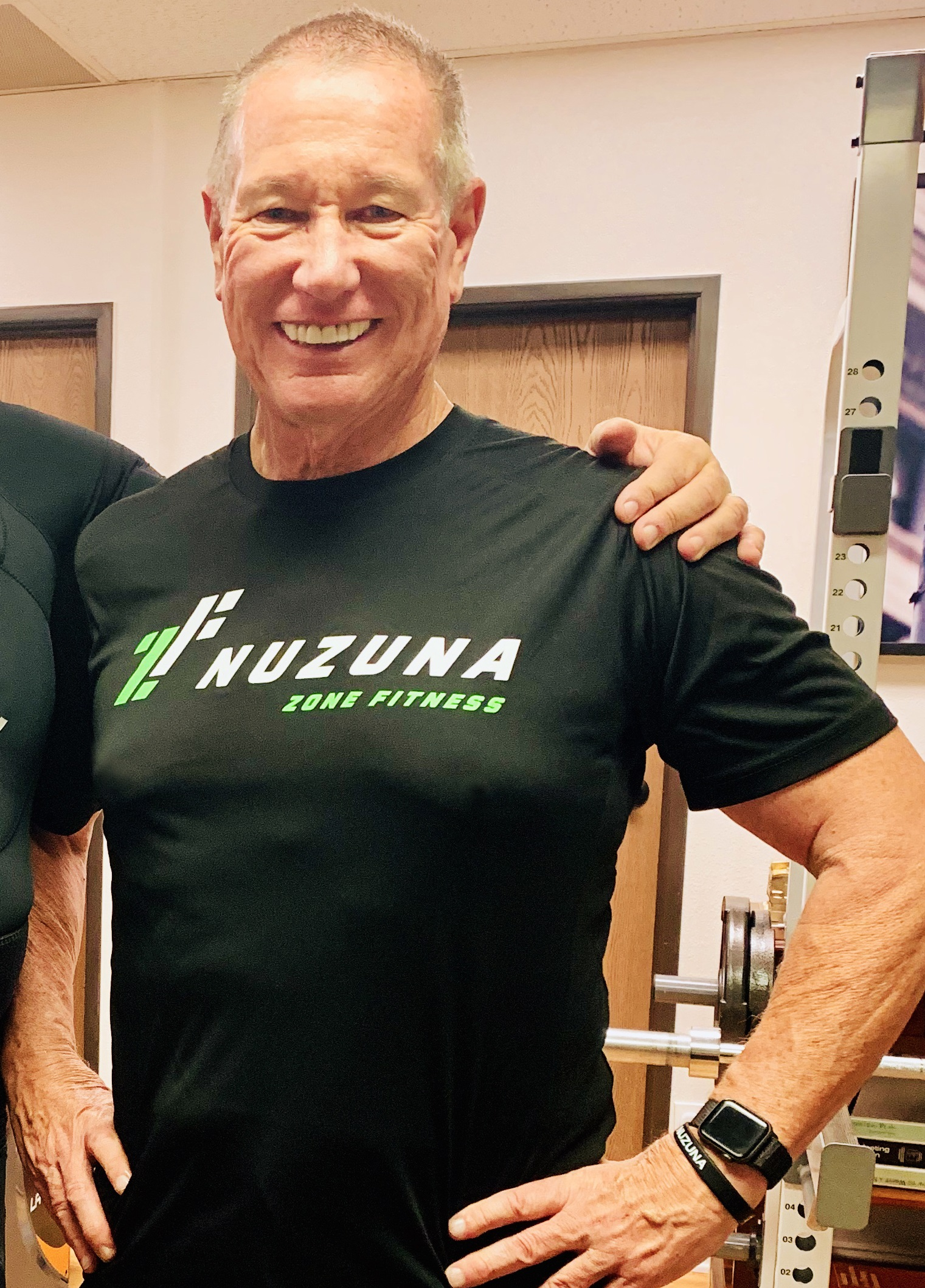 Charles Laverty Working out at Nuzuna in California