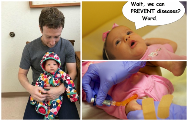 Pull a Zuckerberg and Post Vaccination Pics of YOUR Kids.