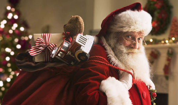 How Santa Could Be Patient Zero in a Massive Christmas Flu Epidemic.
