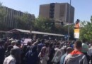 thousands of Iranians in Tehran protest against the regime's corruption