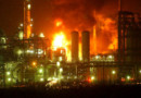 Abadan's Petrochemical & Oil Refinery Explosion & Fire