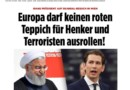 Germany's Bild newspaper details why Europe and specifically Germany & Austria should not host leaders of the Khomeiniist regime.