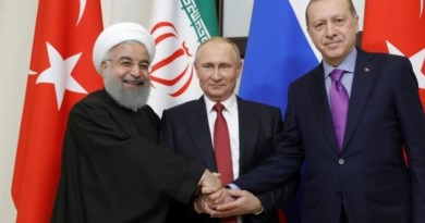The Iranian, Russian, Turkish presidents.