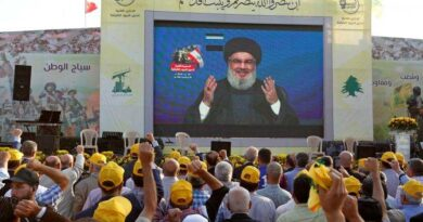 The leader of Hezbollah