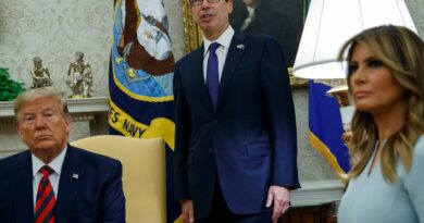 Treasury Secretary Steve Mnuchin says Iran's central bank and the National Development Fund have been used by the regime to finance its proxies fighting in Lebanon, Syria, Iraq and Yemen.