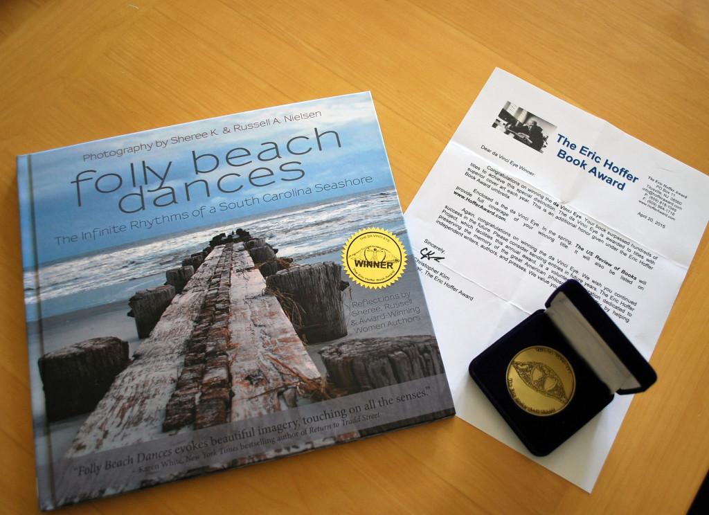DSC_1595 book, letter, da vinci eye award 2