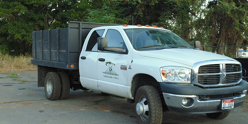 don taylor tree service truck