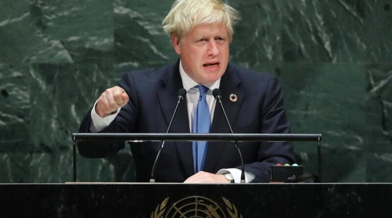 The deceptive slant on Boris Johnson's technological dystopia speech