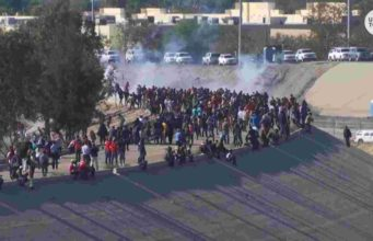 donald trump-teargas-immigration-life quest journal