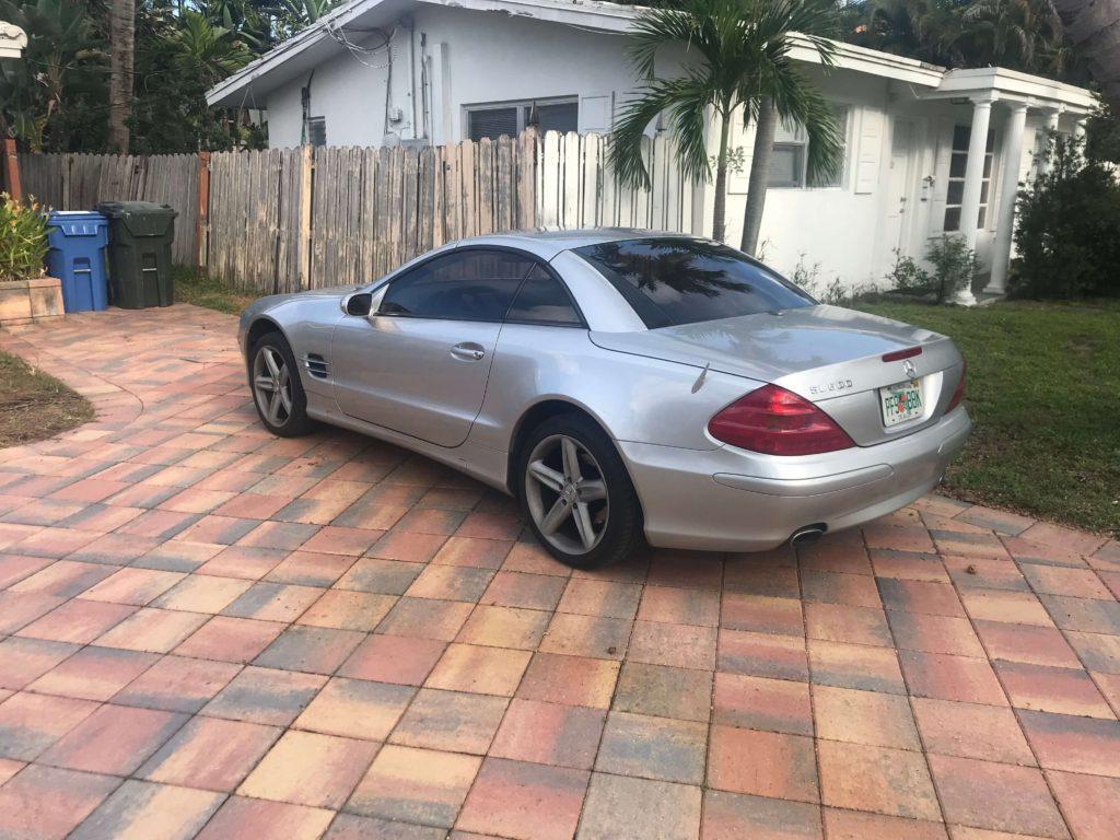 Mercedes benz 500 sl-life quest journal