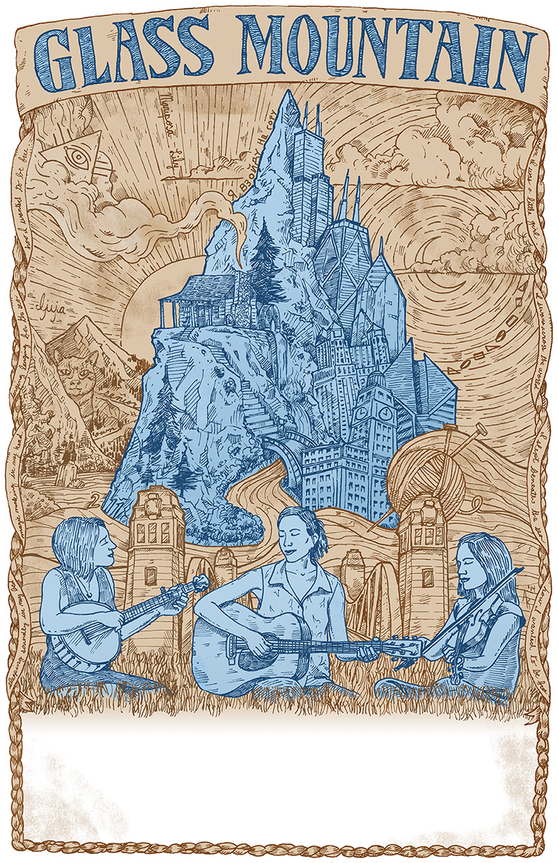 Glass Mountain All-Purpose Poster low res