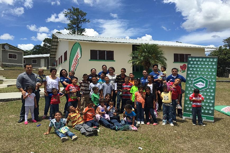 ACAVISA Honduras haciendo días felices