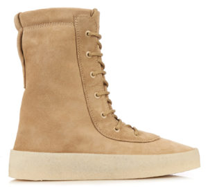 yeezy crepe-sole-lace-up-suede-boots