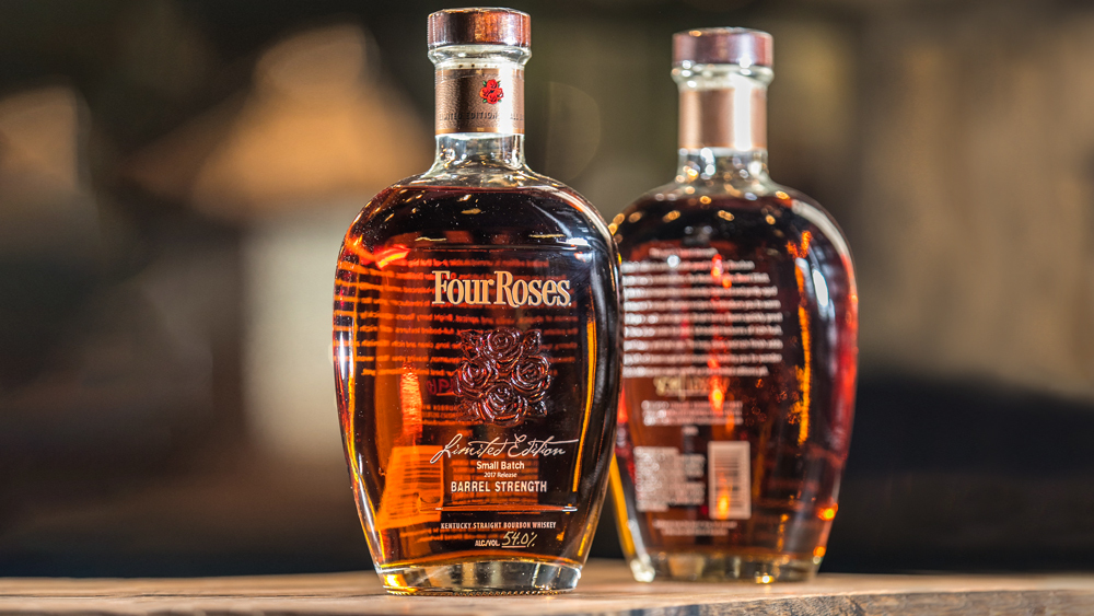 Christmas gift guide Four Roses limited edition small batch bourbon