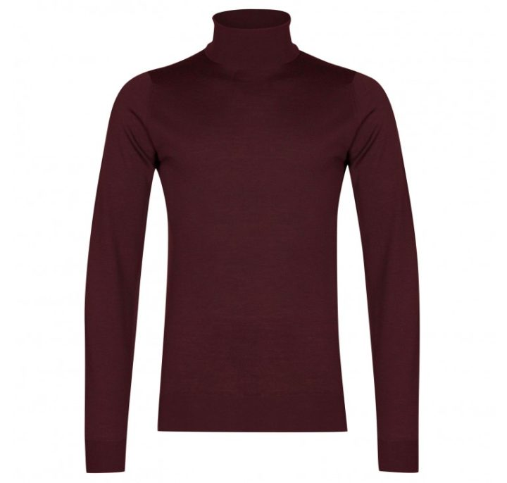 Christmas gift guide John Smedley extra fine merino wool roll neck