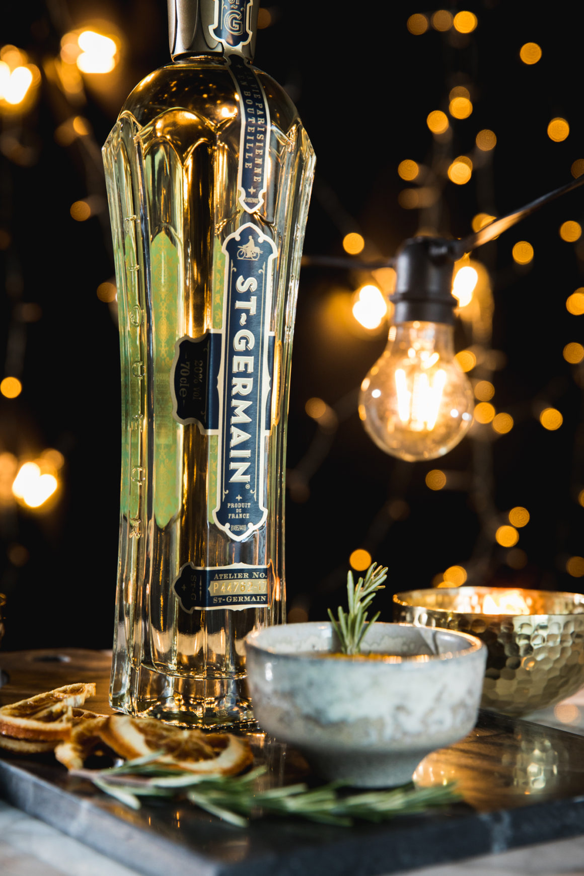 3 of the best Christmas cocktails to sip this holiday season - St Germain bottle
