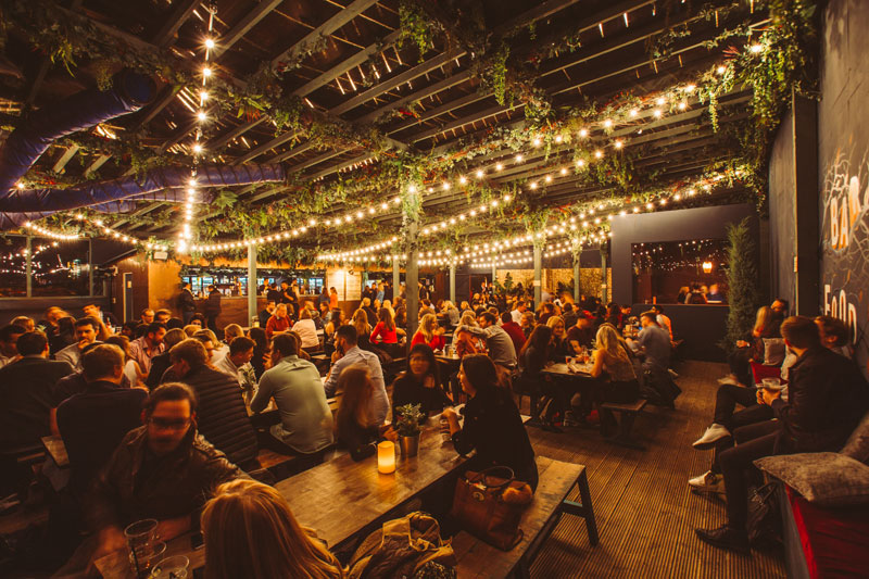 Top Places to Relax in London This Christmas Pergola Paddington
