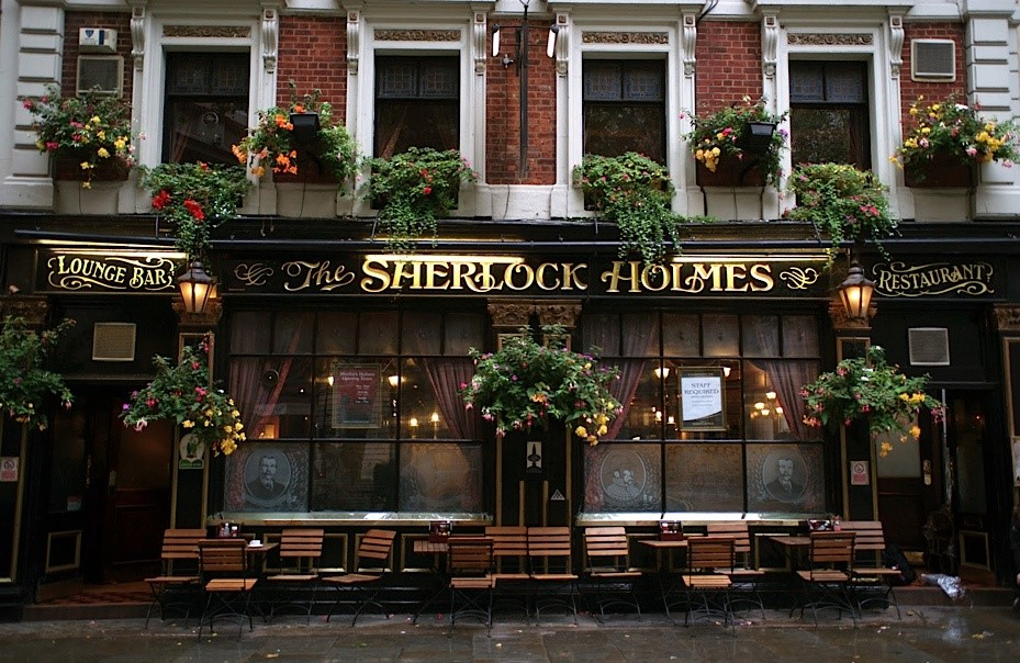 Top Places to Relax in London This Christmas The Sherlock Holmes Pub