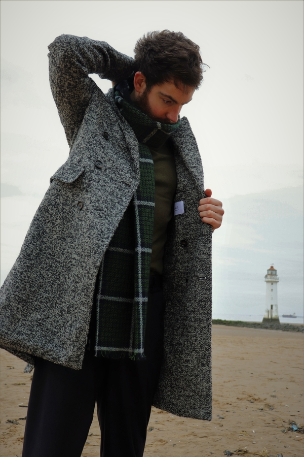 Styling out the Winter freeze with Mr P Overcoat