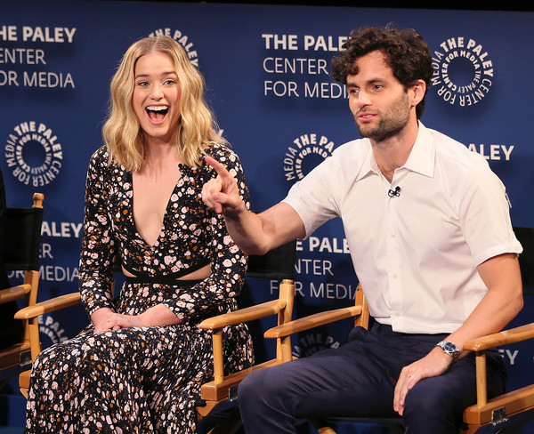 Penn Badgley style The Paley Center for Media's 2018 PaleyFest Fall TV Preview
