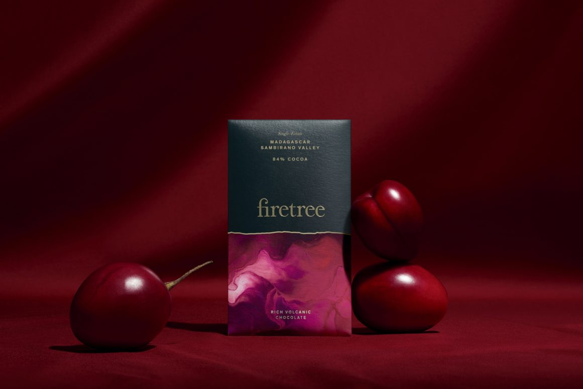 Firetree chocolate, the UK's new super premium chocolate brand Madagascar Sambirano Valley 84%