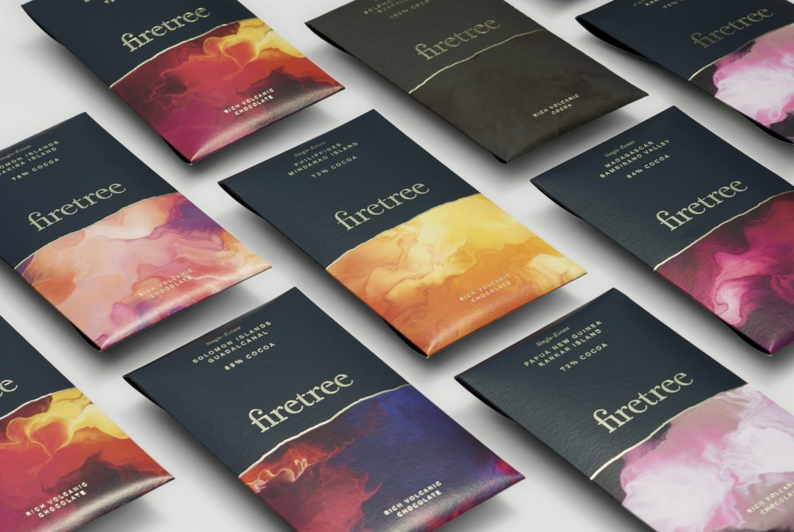 Firetree chocolate, the UK's new super premium chocolate brand chocolate bar