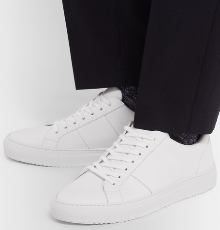 Mr P Summer Collection Larry Leather Sneakers