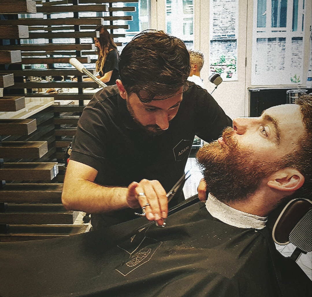 ADAM Grooming beard trim scissors