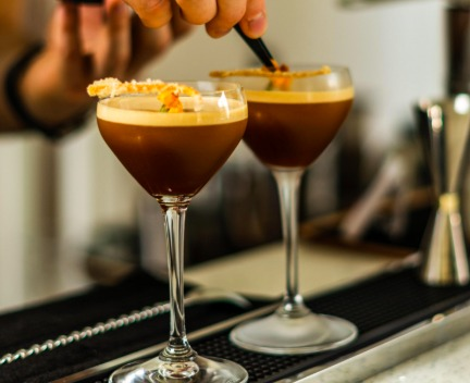 National Coffee Day 5 of the best coffee shops in London that transform into bars - Origin Coffee Roasters Southwark Cocktail