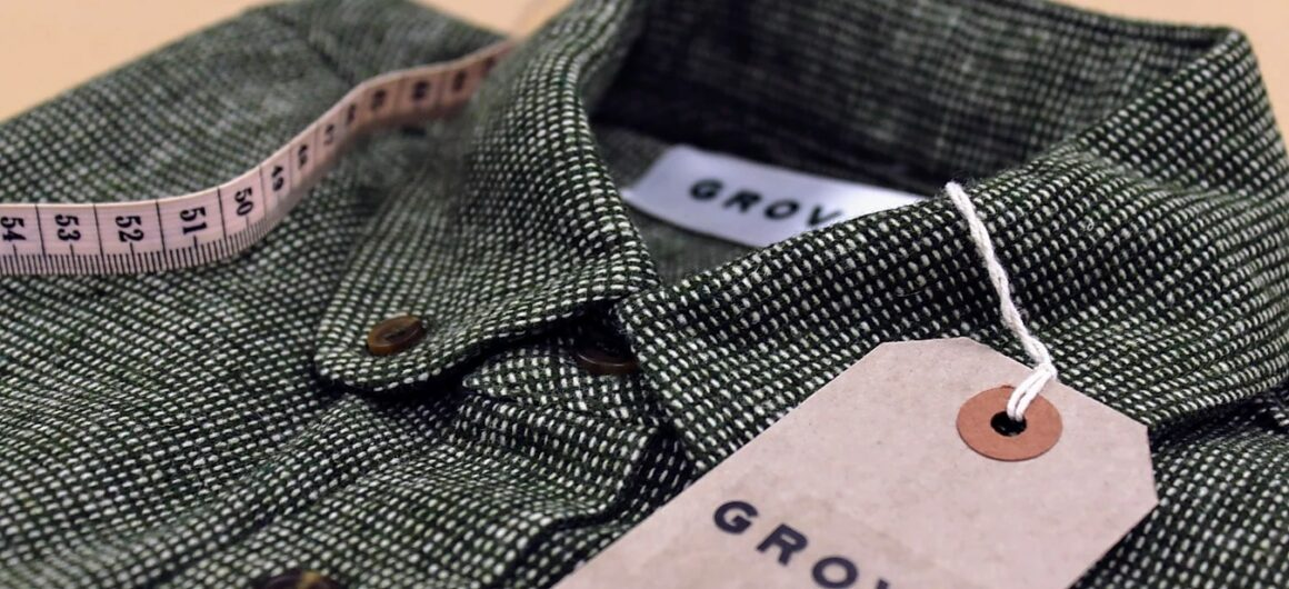 Sustainable British made shirts - We sit down with Bristol based menswear brand Grove & Co men's fashion