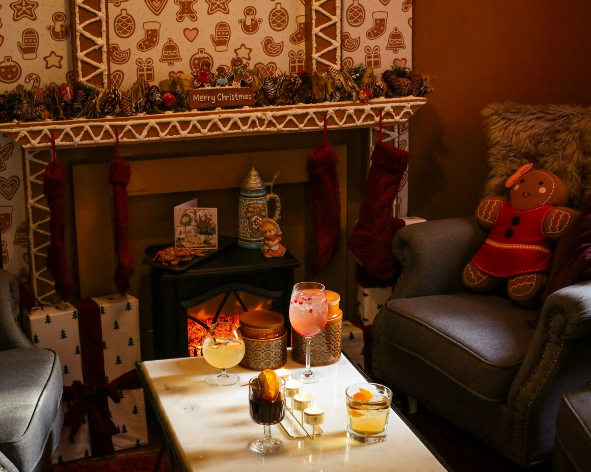 Gingerbread Cabin at York & Albany The perfect Christmas Pop-up with Gordon Ramsay Restaurants
