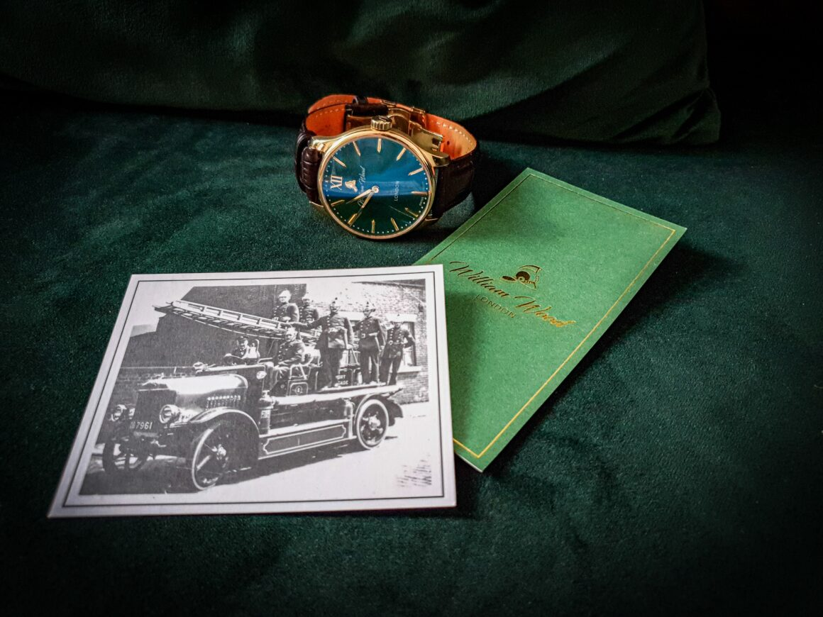 off the cuff ldn British Racing Green William Wood Watch The Chivalrous Collection