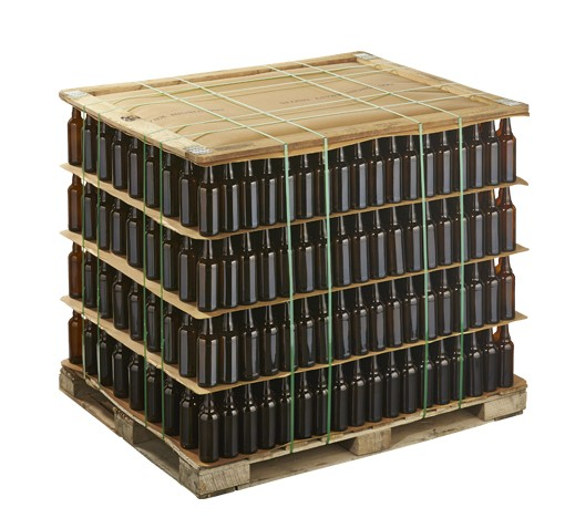 Bulk Beer Bottle Pallet